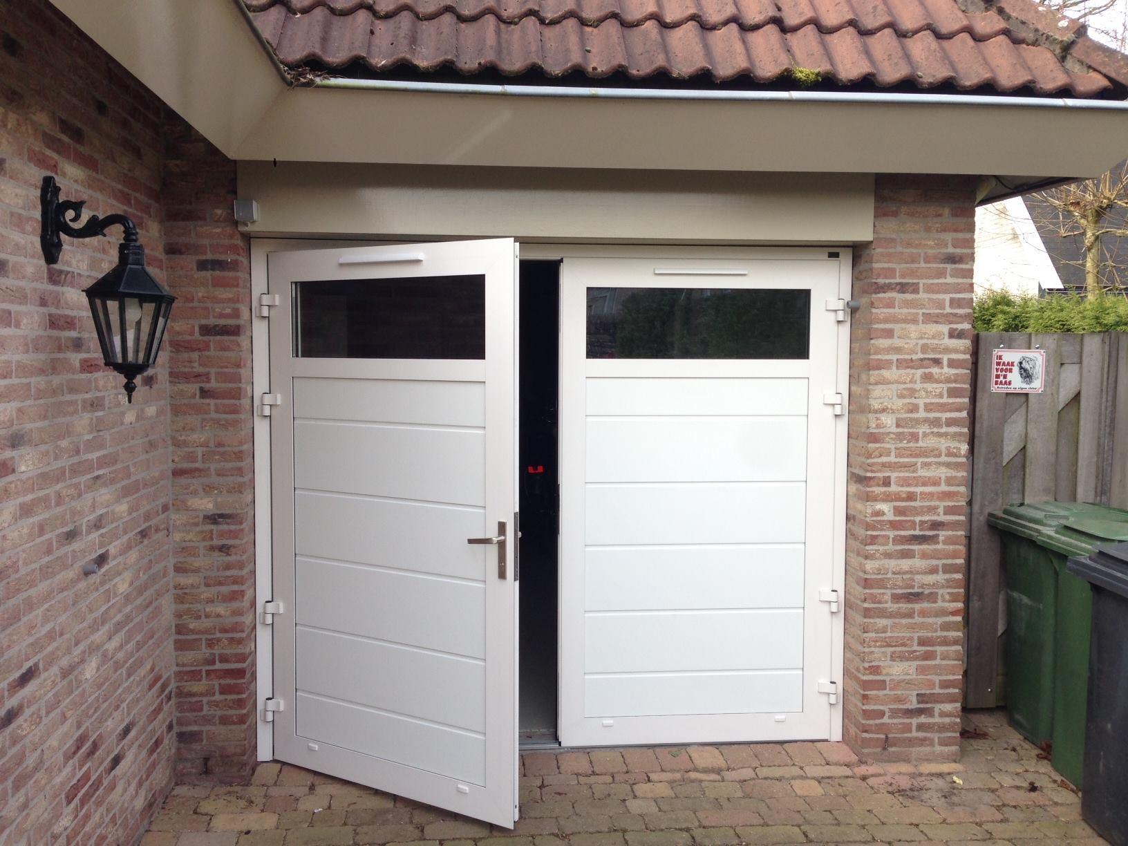 Openslaande Deuren Kosten : Openslaande deur aw u aw garagedeuren