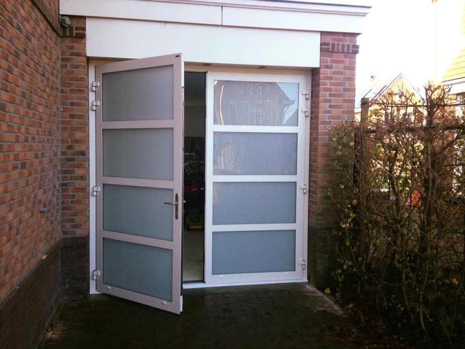 Beroemd Garagedeur Vervangen Door Openslaande Deuren HB22 | Belbin.Info #OU61